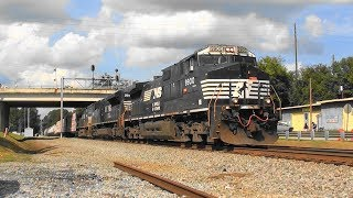 Download NS 175 clears the people off the tracks at ″BridgeFest″ in Stockbridge, Ga. Video