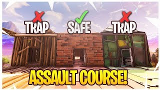 Download Fortnite ASSAULT COURSE RACE Minigame! - Fortnite Playground Custom Minigames #2! Video