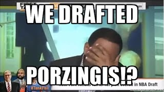 Download Stephen A Smith Reaction: Before & After 2015 Knicks Draft (Kristaps Porzingis) Video