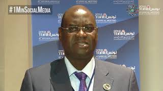 Download (CC) #1MinSocialMedia - Mr. Mamadou Fadia Joao, Minister of Economy and Finance of Guinea-Bissau Video