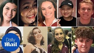 Download These are all 17 victims of the Florida school shooting - Daily Mail Video