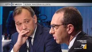 Download Otto e mezzo - Roma, massima allerta (Puntata 22/03/2017) Video