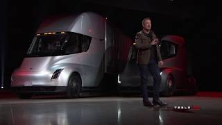 Download Tesla Semi & Roadster Unveil Video