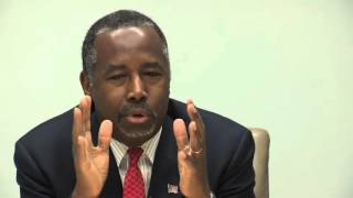 Download Full interview: Ben Carson meets with Register editorial board Video