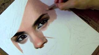Download Drawing Emma Watson Video