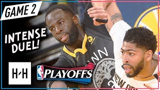 Download Anthony Davis vs Draymond Green EMOTIONAL Game 2 Duel Highlights 2018 Playoffs - CRAZY Scuffle! Video