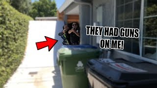 Download *FOOTAGE* ARMED POLICE BROKE INTO MY HOUSE & ARRESTED ME! Video