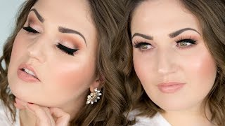 Download GLAM NUDE LASHY DATE MAKEUP ♡ VALENTINE'S DAY Video