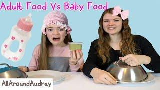 Download Parents Food vs. Kids Food Challenge (Funny)/ AllAroundAudrey Video