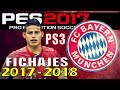 Download Como Editar Bayern Munich PES 2017 PS3 Callnames Temporada Fichajes 2017 2018 Video