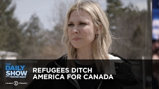 Download Refugees Ditch America for Canada | The Daily Show Video