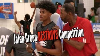Download Jalen Green is DESTROYING DEFENDERS for Head Coach Sam Mitchell Adidas Gauntlet L.A. Day 1 Video