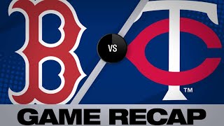 Download Rodriguez, Holt lead Red Sox to a 9-4 win | Red Sox-Twins Game Highlights 6/19/19 Video