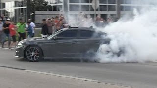 Download The Best Part of a Car Show - Love Watching Them Leave. Video