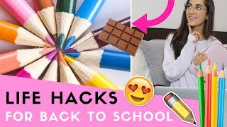 Download 20 LIFE HACKS Everyone Should Know For Back To School! Video