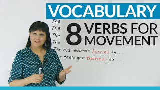 Download Improve your Vocabulary: 8 verbs to talk about movement Video