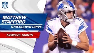 Download Matthew Stafford Does It All on Opening TD Drive! | Lions vs. Giants | NFL Wk 2 Highlights Video