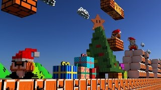 Download Super Mario Bros 3D 360 VR - Merry Christmas and Happy New Year Video
