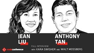 Download Everyone vs. Uber   Jean Liu President, Didi and Anthony Tan CEO, Grab   Code Conference 2016 Video
