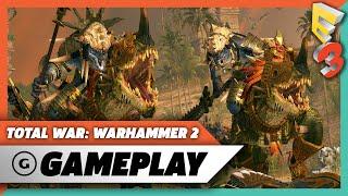 Download Total War: Warhammer 2 - Lizardmen Quest Battle Gameplay Video