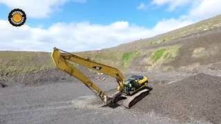 Download Caterpillar 330C Longreach Excavator with 345 Undercarriage. Video