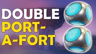 Download QUAD PUMP IS BACK TOO | DOUBLE PORT A FORT | NEW STRATEGY - (Fortnite Battle Royale) Video