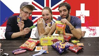 Download Europeans Trying MALAYSIAN Snacks & Candies | Reaction Video