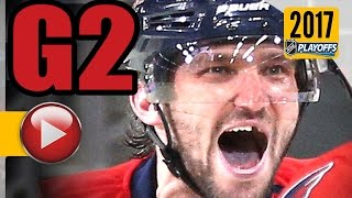 Download Pittsburgh Penguins vs Washington Capitals. 2017 NHL Playoffs. Round 2. Game 2. 04.29.2017 (HD) Video