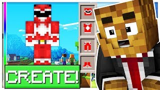 Download *BRAND NEW* BUILD YOUR FAVORITE POWER RANGER! - MINECRAFT MODDED POWER RANGER CREATOR Video