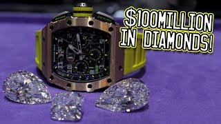 Download $100million in diamonds! Video