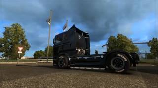 Download [ETS 2 v1.26] SCANIA ILLEGAL V8 FAT + SMALL TUNING Video