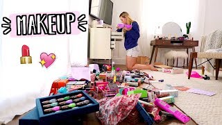 Download Organizing All My Makeup!! AlishaMarieVlogs Video
