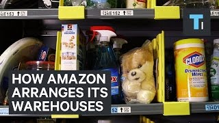 Download How Amazon arranges its warehouses Video