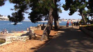 Download Porec 2015 - Coastal walk into town from Valamar Crystal/Diamant Hotels and towards Zelena Laguna Video