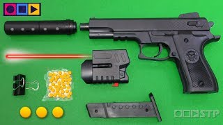 Download Realistic Toy Gun Airsoft - Ball Bullet Shooter Toy Pistol - Pellet Spring Weapon Toys Video