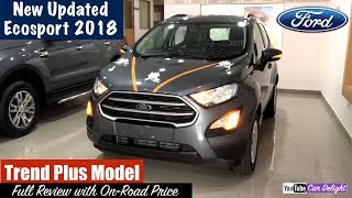 Download New Ford Ecosport 2018 Trend Plus Model Detailed Review | Team Car Delight Video