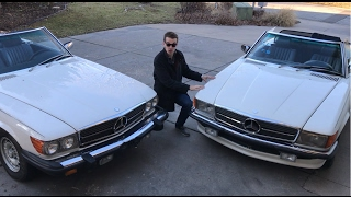Download A Tale of Two Mercedes, One was BANNED from the USA. 1985 500SL vs. 380SL Video