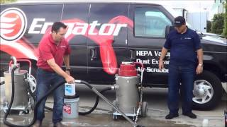 Download Ermator Vacuum Recycles Water with Gelmaxx Video