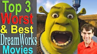 Download Top 3 Worst & Best Dreamworks Movies Video