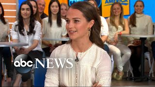 Download Alicia Vikander opens up about 'Tomb Raider' Video