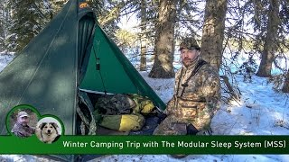 Download Winter Camping Trip with the Modular Sleep System (MSS) Video