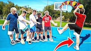 Download Impossible James Harden 1 Leg NBA Basketball Challenge! Video