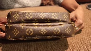 Download LOUIS VUITTON POCHETTE ACCESSORIES NEW MODEL vs OLD MODEL+LOT'S OF HEART TO HEART TALKING Video