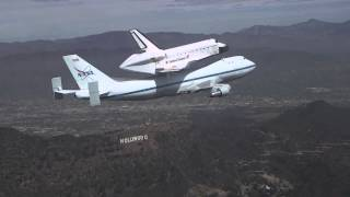 Download Space Shuttle Endeavour/Chase Plane Video