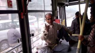 Download Man gives Crazy Political speech in DTC Bus Video