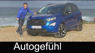 Download Ford EcoSport ST-Line AWD FULL REVIEW 2018: all-new or Facelift? - Autogefühl Video