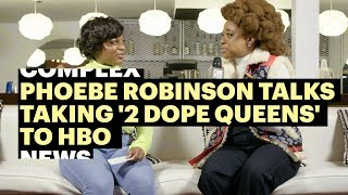 Download Phoebe Robinson Talks Taking '2 Dope Queens' to HBO | Complex at Sundance Video