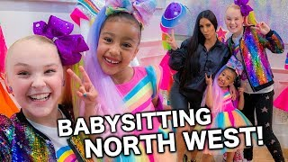 Download BABYSITTING NORTH WEST!!! - JoJo Siwa Video
