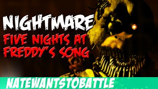 Download NateWantsToBattle: Nightmare [FNaF LYRIC VIDEO] FNaF Song Video