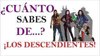 Download ¿Cuánto sabes de Los Descendientes? - TEST!! ¡DEMUESTRA LO FAN QUE ERES! Video